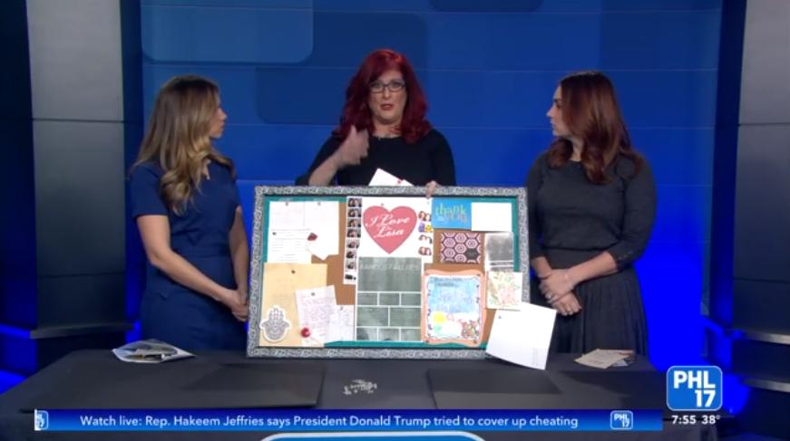 """""""I Love You"""" Boards With Lisa Bien ( WPHLTV )"""